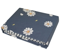 Blue sheet sets sized Twin XL - Add extended Twin sheet sets to Twin bedding extended with flowers