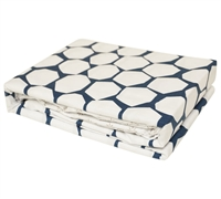 Midnight Hive - Navy and white bedding Sheets Queen size - soft sheets to buy