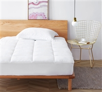 Extra Layer of Comfort and Support For King Bed Clean Health Unique Anti-Bacterial King Mattress Pad