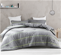 Tungsten Lime Full Comforter