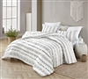 Arrow Black and White Oversized Queen Comforter - 100% Cotton