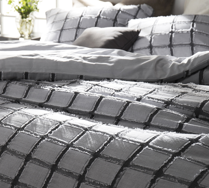 Frayed Edgings King Duvet Cover Oversized King Xl