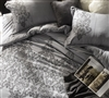 Baroque Stitch - Alloy Twin size Duvet Cover Oversized for Twin XL Bedding set