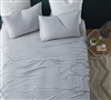 Complete Twin Extra Long Sheet Set Most Comfortable Bare Bottom Easy to Match Tundra Gray All Season Twin XL Bedding