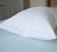 Cotton Terry Pillow Cover - Standard Pillow Cover - Cheap Pillows