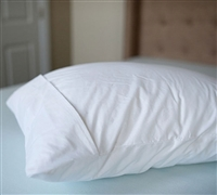 French Fold Bedding Pillow Cover Sets - Standard Bed Pillow Cover White