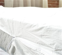 Zippered Vinyl Boxspring Encasement - Twin - Bedding Protection