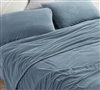 Softest Twin Extra Long Sheets Ultra Cozy Coma Inducer Baby Bird Smoke Blue Twin XL Bedding