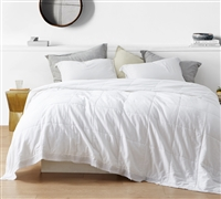 Bom Dia - 300TC Washed Sateen King Quilted Comforter