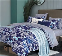 Indigo Lotus Queen Comforter Bedroom Decor Queen Bedding Essentials