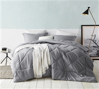 Alloy Reversible Full Comforter - Oversized Full XL Bedding