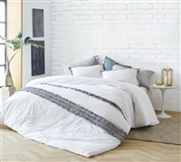 Boa Noite - 200TC Washed Percale Duvet Cover