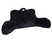 Cheap Bedding Accessories - Plush Bedrest - Black - Quality Bedrests