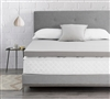 "Spoon Me - Coma Inducer  -  3"" Memory Foam King Bedding Topper  - Nighttime Gray"
