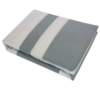 100% cotton Sunset Gray size Full Sheets - soft sheet sets in gray for Full size bedding
