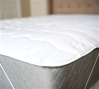 100% Cotton Top Anchor Band Twin XL Mattress Pad