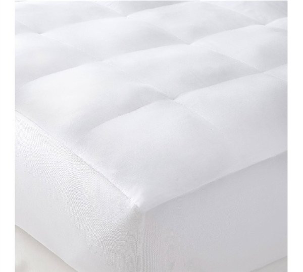 Quality Bedding - Queen Mattress Pad - Beyond Down - Mattress Pad for Queen Beds