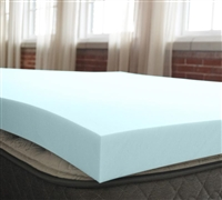 "2"" Serene Foam Topper Full Mattress Toppers Full Bedding"