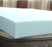 "3"" Serene Foam Topper Twin Bedding Twin Mattress Toppers"