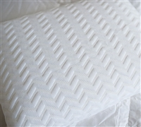 Serene Foam Traditional Bed Pillows - Softest Bedding Pillow Sets White Serene Foam