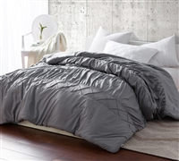 Alloy Criss Cross Waves - Handcrafted Series - King XL Comforter