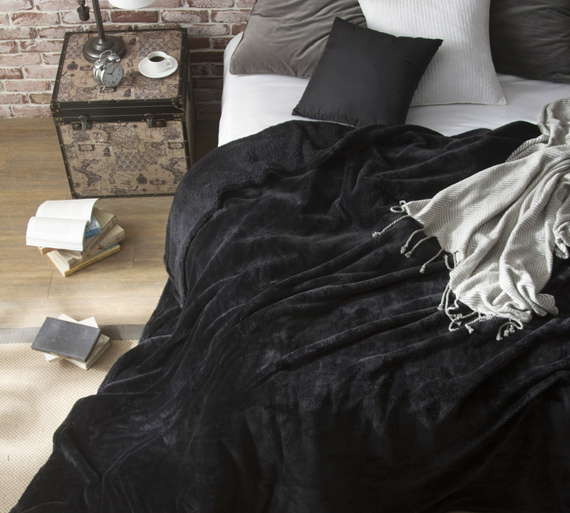 Coma Inducer Queen Blanket The Original Black