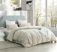 Coma Inducer King Duvet Cover - The Original Plush - Almond Milk