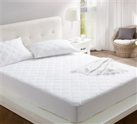 100% Cotton Fill - All Around Cotton Twin XL Mattress Pad