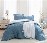 Buy Bedding at Byourbed - Smoke Blue/Silver Birch Twin XL Comforter - Online Comforter Source