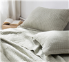 Classic Supersoft Bedding Sham sets Queen size - Extra Soft Silver Birch Shams in stock