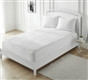 100% Cotton-Top Mattress Pad - Queen
