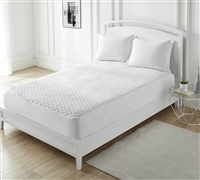 100% Cotton-Top Mattress Pad - Twin XL