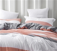 Thick Queen sized bedding sham sets vanilla slate - Soft sham sets to sleep with cozy soft bedding comforters