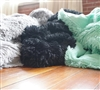 Are You Kidding Full Blanket - Cozy Soft Bed Blankets Full - Gray, Black, Mint Green Blankets