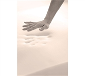 "Soft and Supportive - 2"" Memory Foam King Topper - Supreme Comfort"