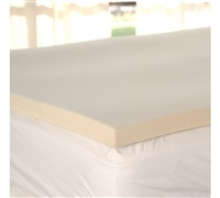 "Soft and Supportive - 1"" Memory Foam Twin Topper - Add Comfort To Your Bedding"
