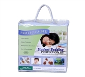 Twin XL Bedding College Student Bedding Protection Kit Twin XL Dorm Bedding