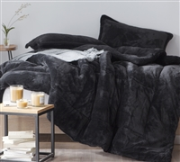 Coma Inducer Queen Comforter - Oversized Queen XL Bedding - The Original - Black