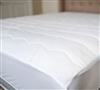 100% Cotton Top Mattress Pad in Full - Best Bedding Toppers Full with 100% Cotton