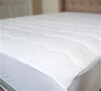 Add Another Layer of Comfort - 100% Cotton Top Queen Mattress Pad - Bedding for Cheap
