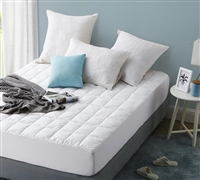 More Support - Featherbed Twin XL Mattress Pad - Great for Softer Bedding