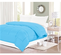 Chea Cotton Comforter  - 400 TC Twin XL Comforter - Blue - Super Soft Comfort