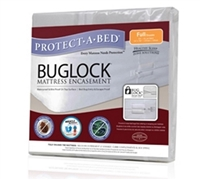 Buglock Twin XL Mattress Encasement (Protect-A-Bed) - Keeps Mattress Safe