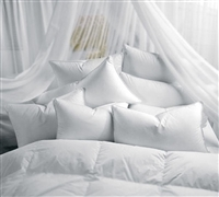 Luxury Down Alternative Standard Pillow Sets - Best Bed Pillow Sets in White