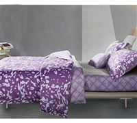 Passion Berry Comforter Sets in Full XL Size - Softest Bedding Sets Full XL in Purple