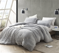 Coma Inducer Oversized Queen Comforter - Frosted - Black