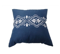 Comfortable Bedding Pillows - Sedona Navy Decorative Bed Pillows