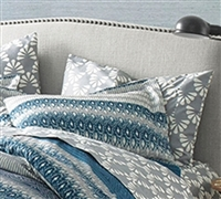 Sedona Standard Bedding Pillow Shams - Soft Bed Pillow Sham Sets