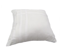 Hampton Decorative Bed Pillows - White Bedding Pillow Sets