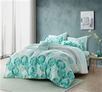 Calico Mint Queen Comforter Bedding Essentials Bedroom Decor